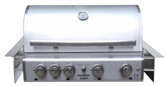 Gasgrill / Einbaugrill ALL'GRILL CHEF L - BUILT-IN Air System 71x46cm