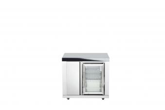 Modul 6 - Schrank (3 Regalfächer) mit Einzelkühlschrank Bild 1