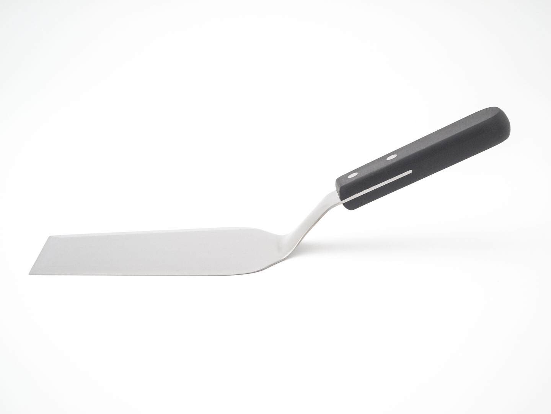 Edelstahl-Spachtel mit Kunststoffgriff 31cm Bild 9