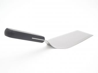 Edelstahl-Spachtel mit Kunststoffgriff 31cm Bild 5
