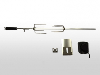 Drehspieß elektrisch BBQ Boss zu Gasgrill Indiana 88 cm Bild 1