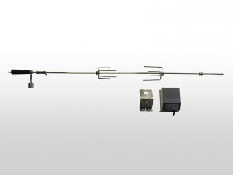 Drehspieß elektrisch BBQ Boss zu Gasgrill Montana 130 cm Bild 1