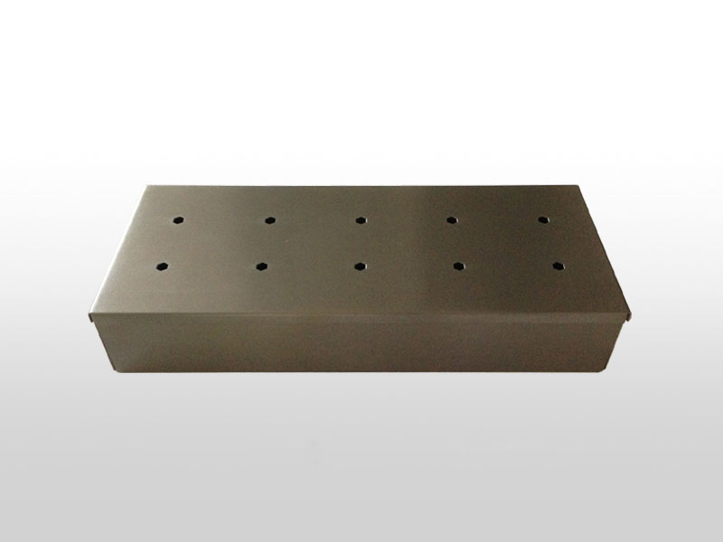 Räucherbox BBQ Boss Edelstahl 23x9x4 cm Bild 1