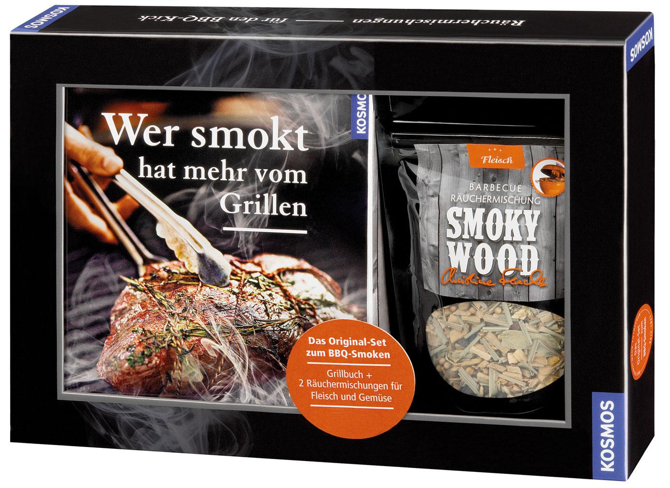 Räuchermischung / Räucherkräuter Barbecue BBQ Boss inkl. Grillbuch Bild 1