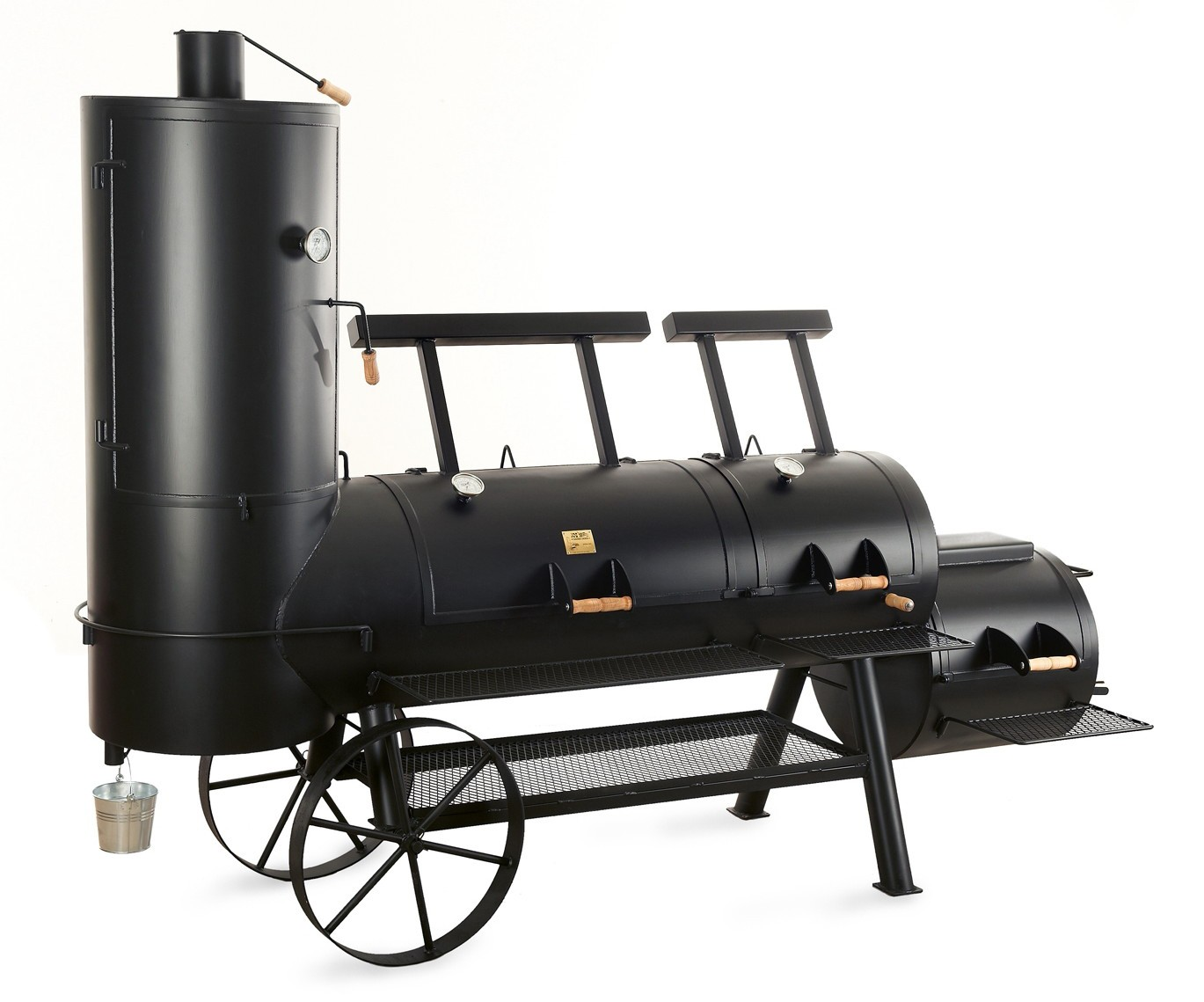 barbeque smoker holzkohle grill joe s 24 extended catering smoker bei. Black Bedroom Furniture Sets. Home Design Ideas