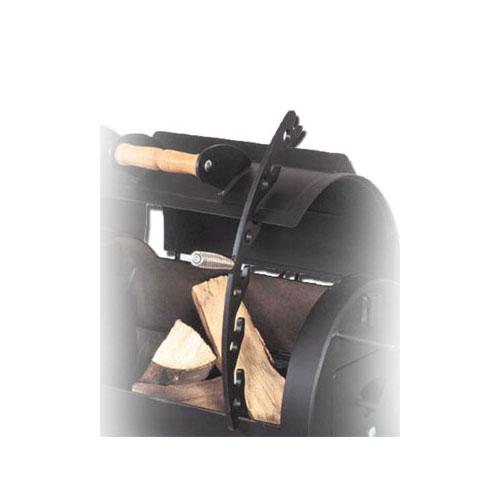 Deckelhalter klein mit Holzgriff für JOE`S BBQ Smoker Bild 2