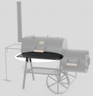 """Frontablage / Ersatzteil für JOE´s Barbeque Smoker 16"""" Bild 1"""