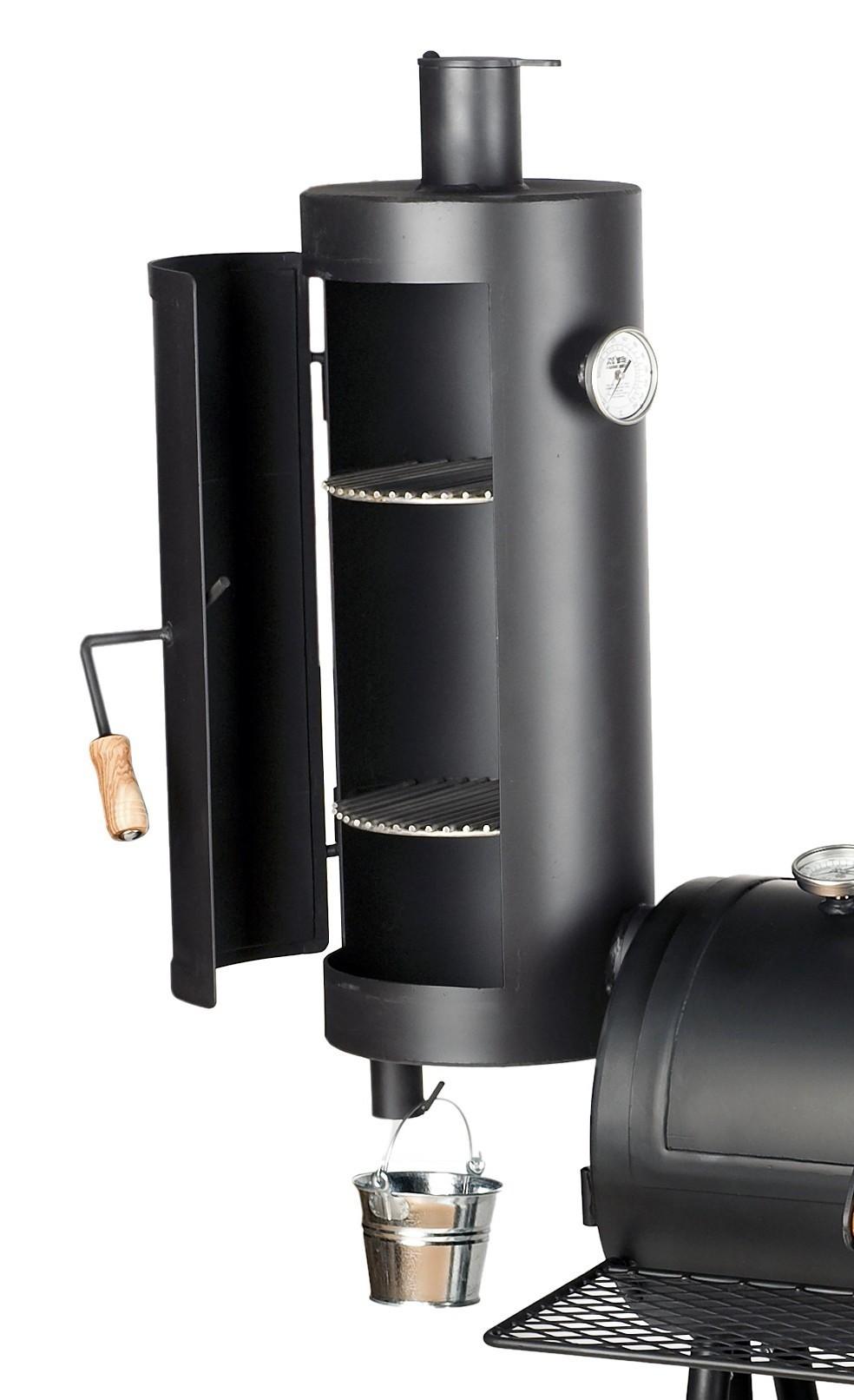 """Räucheraufsatz / Warmhalteaufsatz für JOE`S Barbeque Smoker 16"""" Bild 1"""
