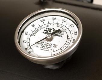 "Thermometer Edelstahl 3"" für JOE`S BBQ Smoker"