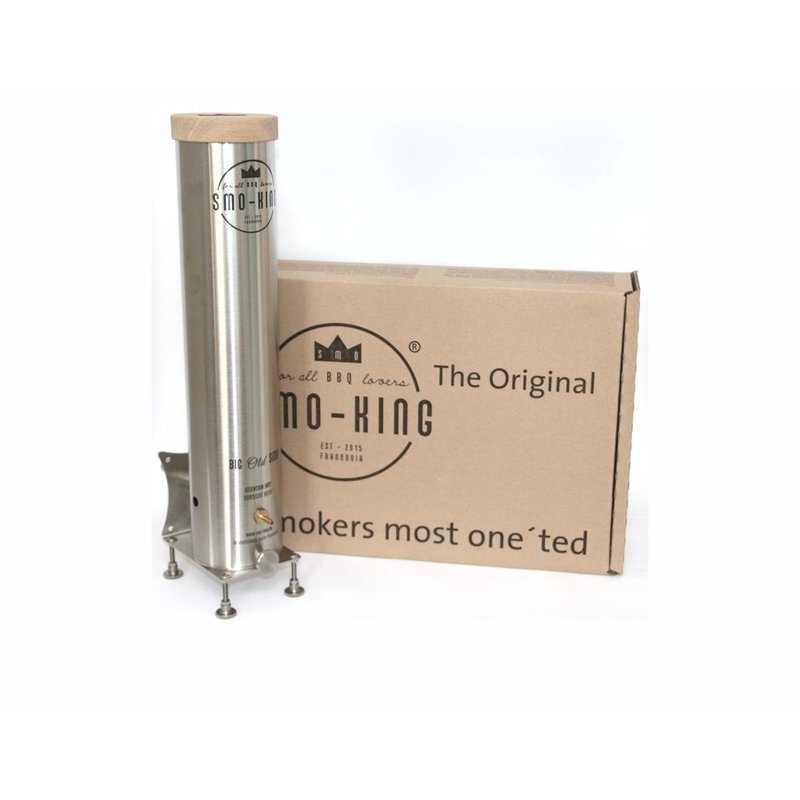 Kaltrauchgenerator Smo-King Big-Old-Smo 2,3 Liter mit Batteriepumpe Bild 1