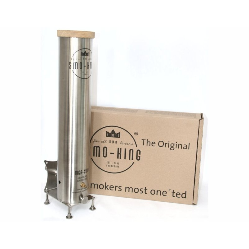 Kaltrauchgenerator Smo-King Giga-Smo 4 Liter mit Batteriepumpe Bild 1