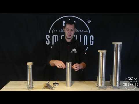 Kaltrauchgenerator Smo-King Grill-Smo 0,65 Liter mit Batteriepumpe Video Screenshot 2919