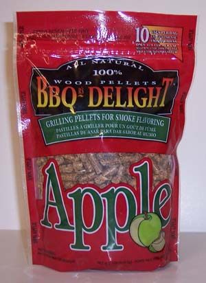 BBQr's-Delight Smoking Pellets - Apfel Pellets 450g Bild 1
