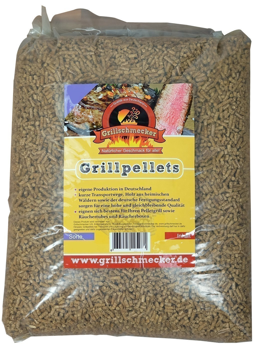 Grillpellets / Buchenpellets / Smokerpellets Buche 1,5kg Bild 1