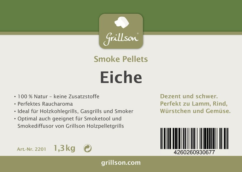 Grillson Smoke Pellets Eiche 1,3 kg Bild 2