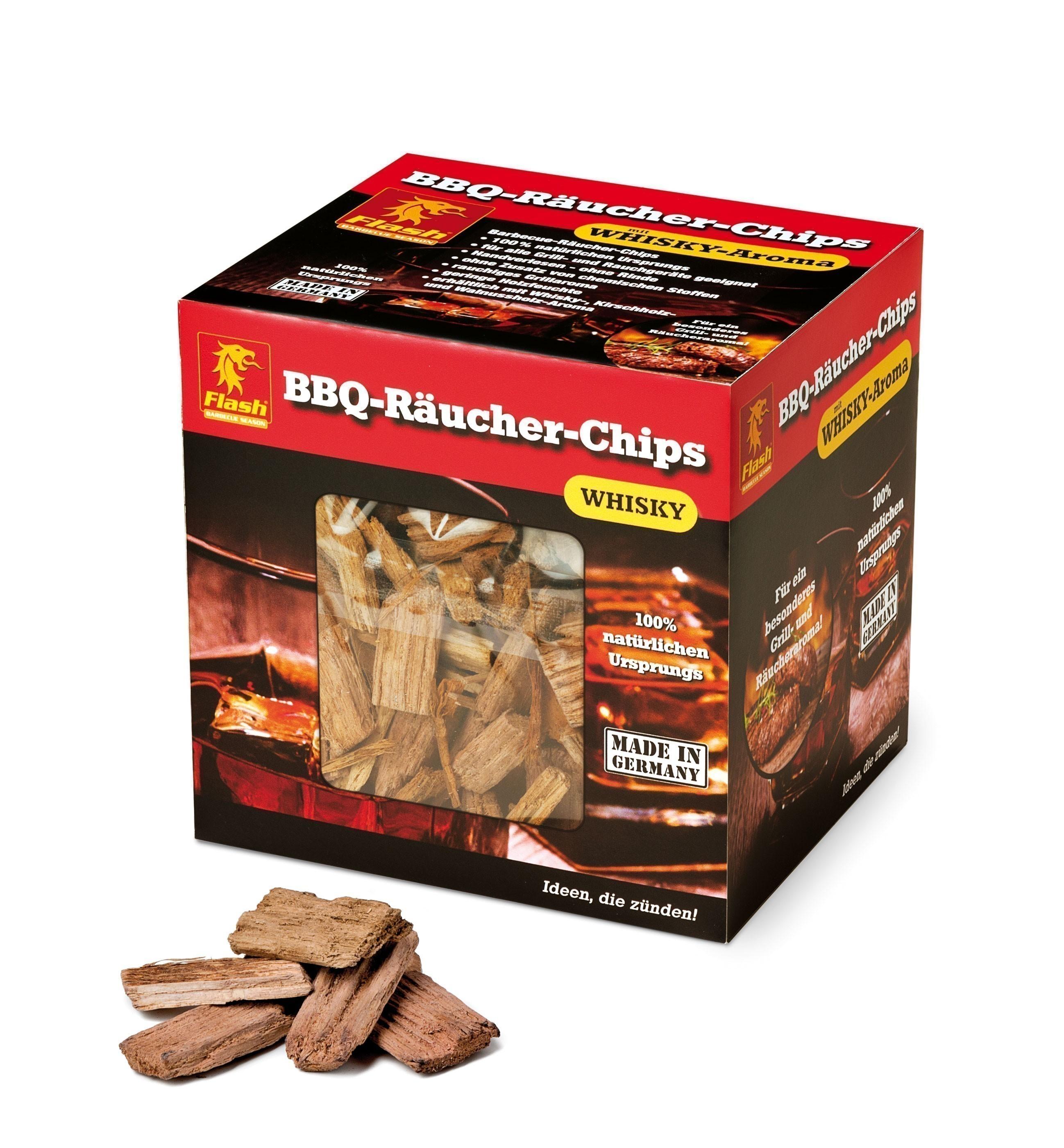 Räucher-Chips Boomes Flash Whisky 700g Bild 1
