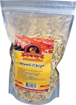 Räucherholz Wood-Chips Apfel 1kg Bild 1