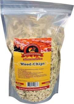 Räucherholz Wood-Chips Orange 1kg Bild 1
