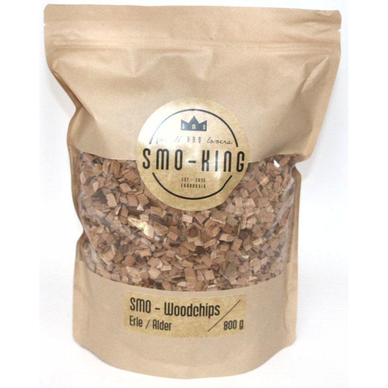Smo-King Woodchips / Räucherspäne 3-10mm Erle 800 g Bild 1