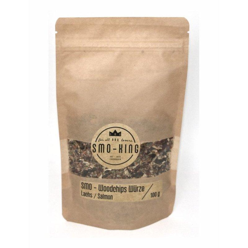 Smo-King Woodchips-Würze / Räucherwürze Lachs 100 g Bild 1