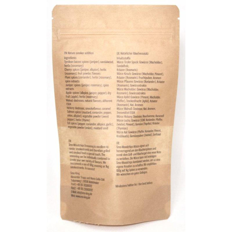 Smo-King Woodchips-Würze / Räucherwürze Lachs 100 g Bild 2