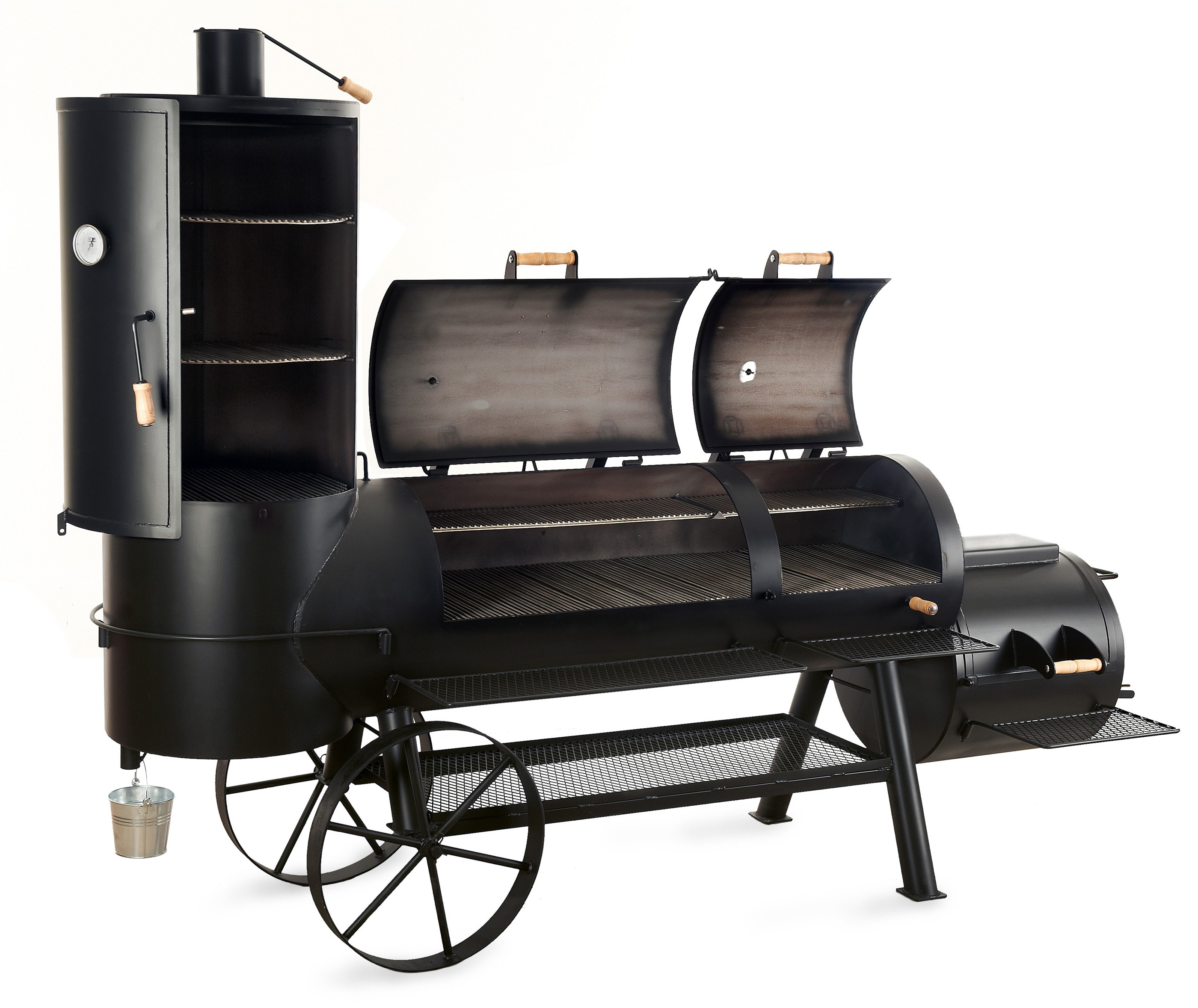 barbeque smoker holzkohle grill joe s 24 extended. Black Bedroom Furniture Sets. Home Design Ideas