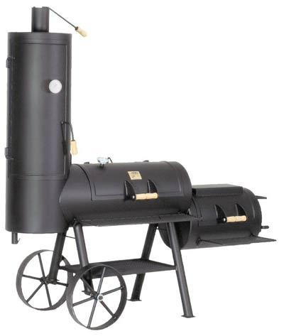 "Barbeque Smoker / Holzkohle Grill Joe´s BBQ 16"" Chuckwagon 100x40cm Bild 1"