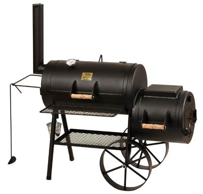 "Barbeque Smoker / Holzkohle Grill Joe´s BBQ 16"" Classic 70x40+38x40cm Bild 1"