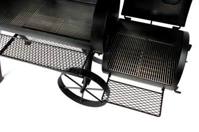 "Barbeque Smoker / Holzkohle Grill Joe´s BBQ 16"" Longhorn 100x40+40x40 Bild 3"