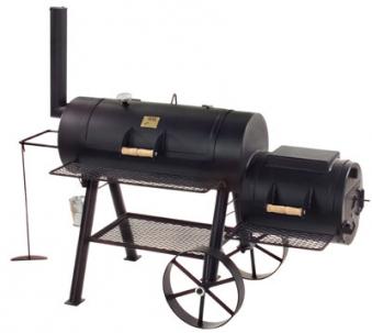 "Barbeque Smoker / Holzkohle Grill Joe´s BBQ 16"" Longhorn 100x40+40x40 Bild 1"