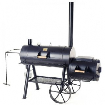 "Barbeque Smoker / Holzkohle Grill Joe´s BBQ 16"" Reverse Flow 100x40cm Bild 1"