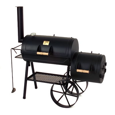 "Barbeque Smoker / Holzkohle Grill Joe´s BBQ 16"" Tradition 70x40cm Bild 1"