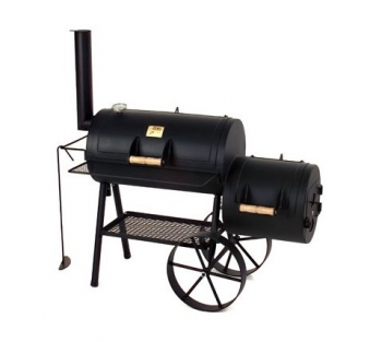 "Barbeque Smoker / Holzkohle Grill Joe´s BBQ 16"" Wild-West 70x40cm Bild 1"