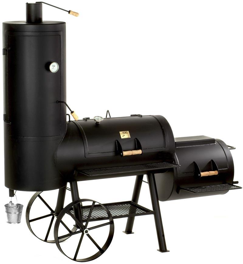 "Barbeque Smoker / Holzkohle Grill Joe´s BBQ 20"" Chuckwagon 100x50cm Bild 1"