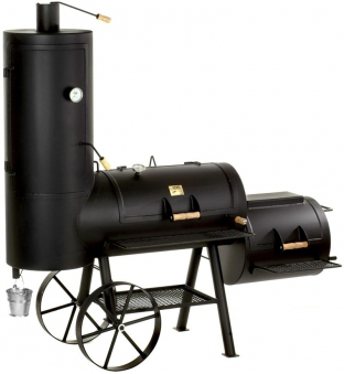 "Barbeque Smoker / Holzkohle Grill Joe´s BBQ 20"" Chuckwagon Catering"