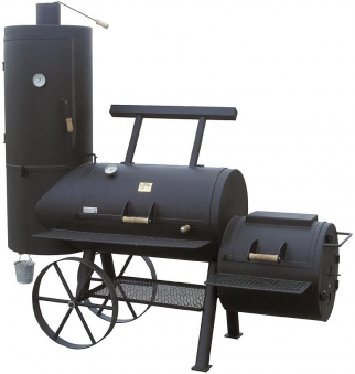"Barbeque Smoker / Holzkohle Grill Joe´s BBQ 24"" Chuckwagon Catering Bild 1"
