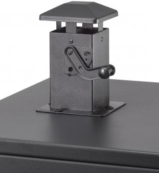 El Fuego Gasgrill / Smoker Standgrill Portland XL Grillfl. 4x 35x34cm Bild 6