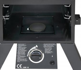 El Fuego Gasgrill / Smoker Standgrill Portland XL Grillfl. 4x 35x34cm Bild 7