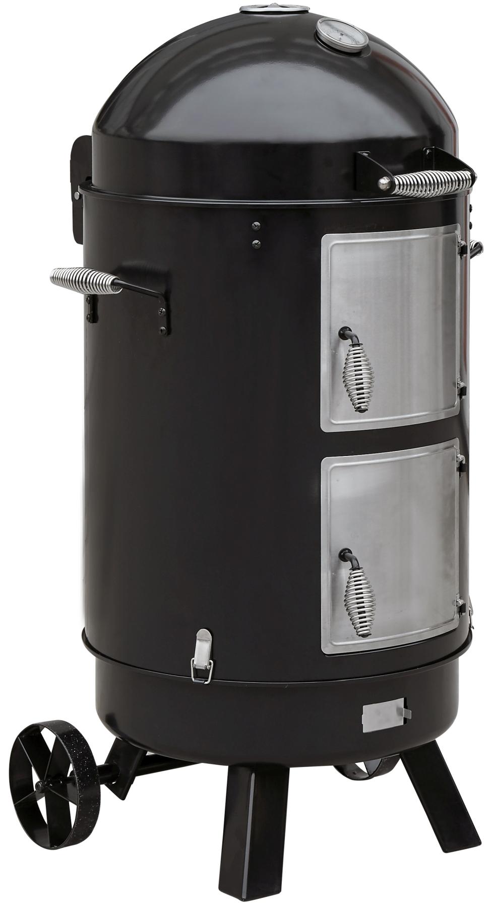 El Fuego Kombigrill / Vertikalsmoker 3-in-1 Staunton Grillfl. Ø 53cmx3 Bild 2