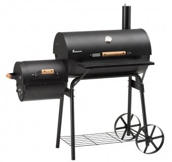 Landmann Smoker / Holzkohlegrill Tennessee 200 BBQ 66x37cm 11402 Bild 1