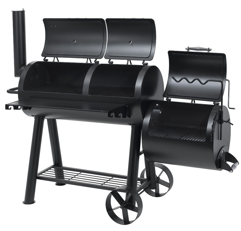 tepro barbecue massiv smoker grill holzkohlegrill indianapolis bei. Black Bedroom Furniture Sets. Home Design Ideas
