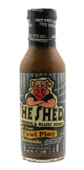 The Shed Fowl Play Marinade - Best on Chicken 350ml Bild 1