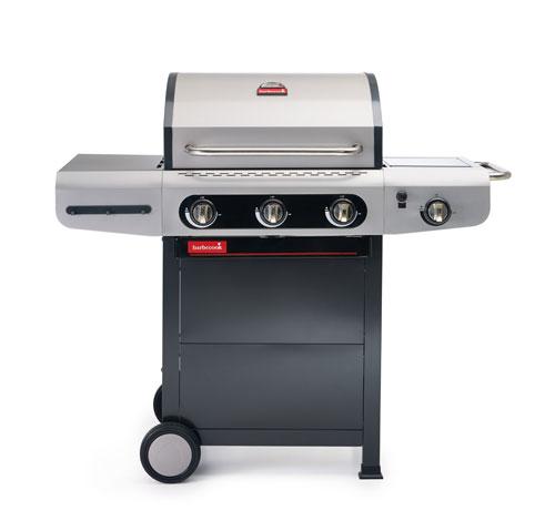 Gasgrill / Gasgrillwagen barbecook Siesta 310 Grillfläche 62x43cm 12kW Bild 1