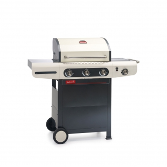 Gasgrill / Gasgrillwagen barbecook Siesta 310 creme m. Plancha 62x43cm Bild 1