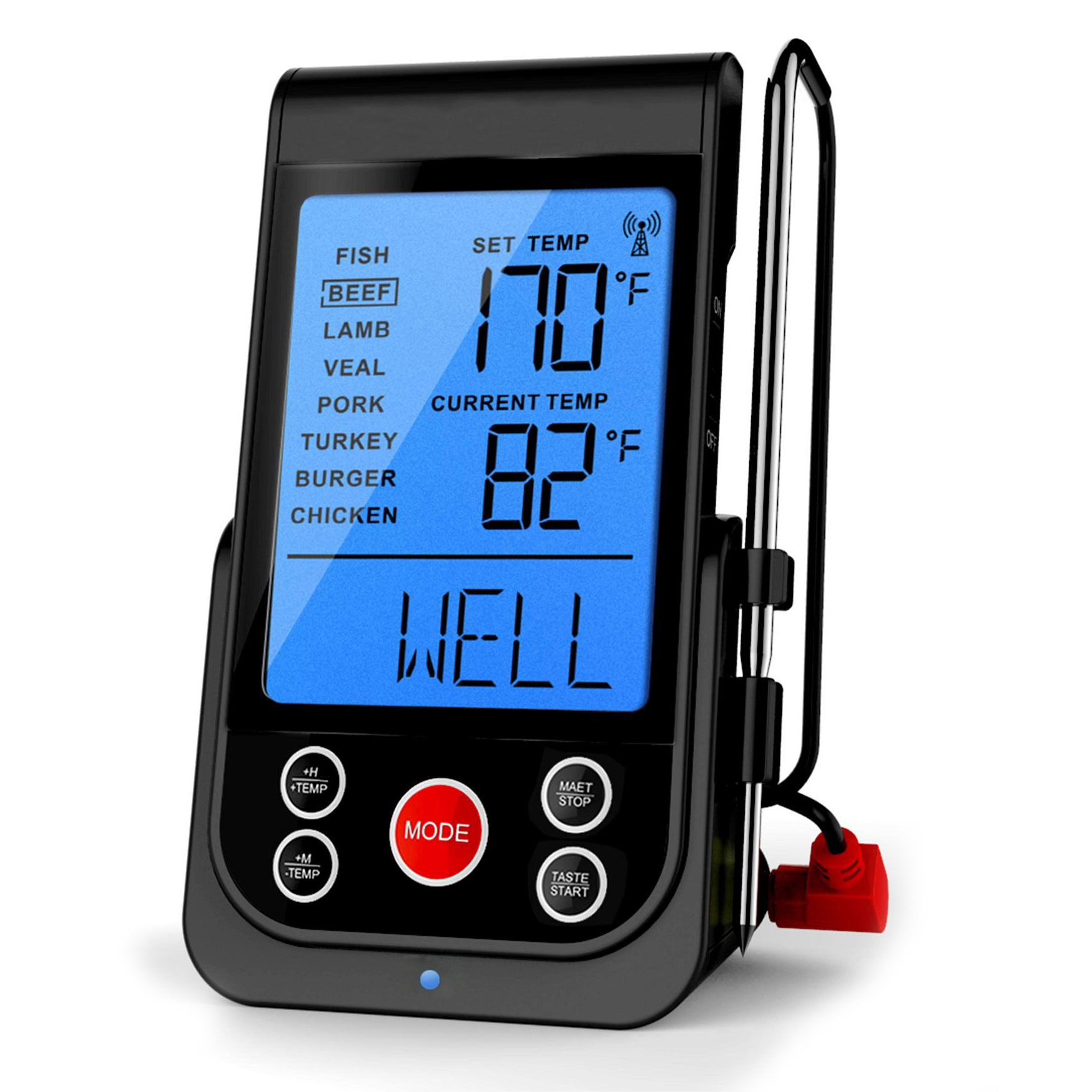 grill thermometer funk thermometer barbecook bei. Black Bedroom Furniture Sets. Home Design Ideas