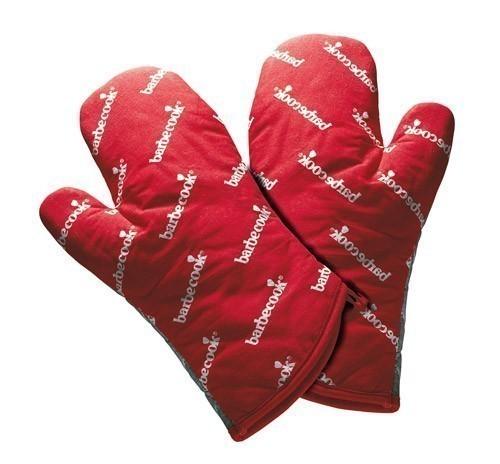Grillhandschuhe / Handschuhe barbecook 28 cm rot Bild 1