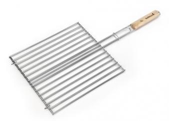 Grillrost barbecook verchromt Birke 36 x 34 cm Bild 1