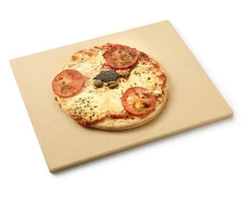 Pizzastein / Pizzaplatte barbecook Keramik für Gasgrill Siesta 43x35cm Bild 1