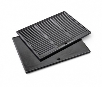 Plancha Grillplatte barbecook emaillierter Guss für Siesta 43x35cm Bild 1