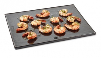 Plancha Grillplatte barbecook emaillierter Guss für Siesta 43x35cm Bild 2